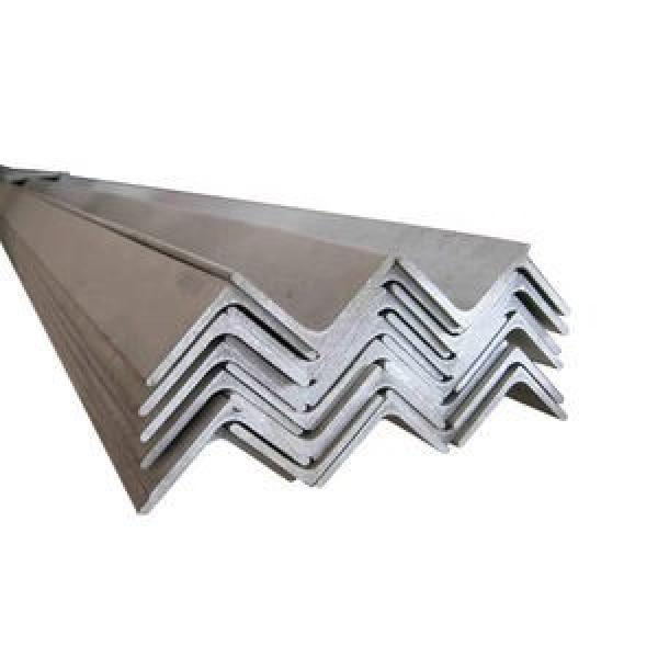 High tensile hot rolled standard size ss400 galvanized mild slotted iron steel angle #1 image