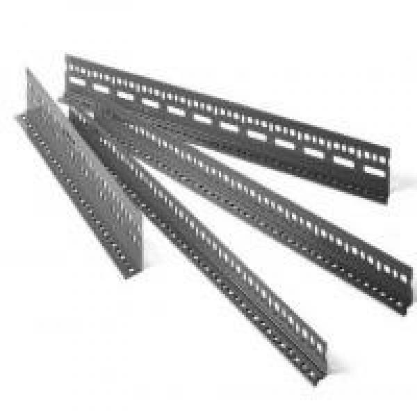 Hot DIP Galvanized Steel Slotted Angle Bar #1 image
