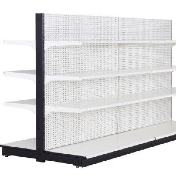 Custom Miniso Style Metal Iron Net Stand Display Rack Toys Doll Display Shelves Goods Basket Shelf for Convenience Store #1 image