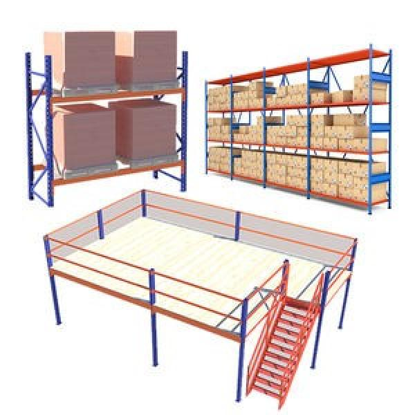 Duty Steel Selective Pallet Rack for Industrial Warehouse Storage #1 image