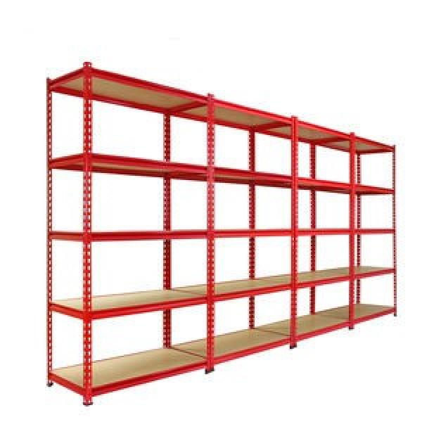 Metal stainless slotted punched angle iron industrial shelving #1 image