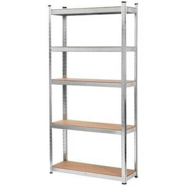 Heavy duty 6 tier wire shelving metal chrome adjustable grid shelving unit storage wire shelving rack #1 image